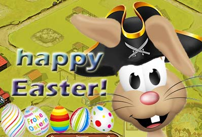 Pirate Easter Rabbit
