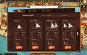 comprarti un paio di navi. Impegnarsi in commercio in questo gioco gratis.